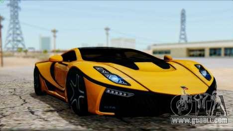 Spania GTA Spano 2016 for GTA San Andreas