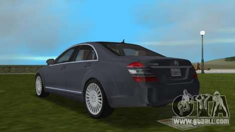 Mercedes-Benz S500 W221 2006 for GTA Vice City