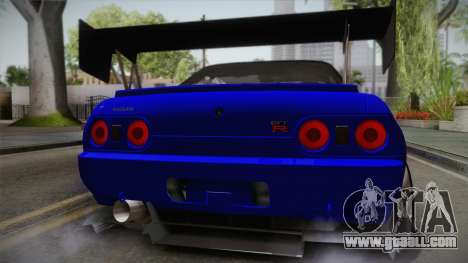 Nissan Skyline GTR32 Rocket Bunny for GTA San Andreas back view