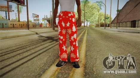 Christmas tights for GTA San Andreas