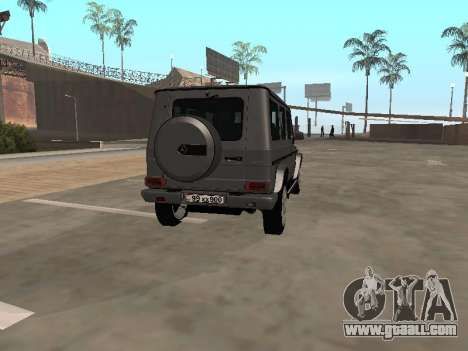 Mercedes-Benz G500 Armenian for GTA San Andreas right view