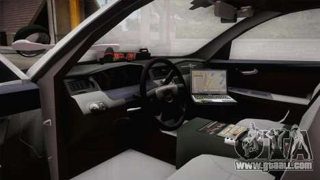 Chevrolet Impala 2007 Las Barrancas Marshal for GTA San Andreas right view