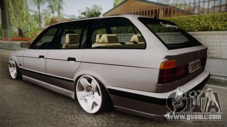 BMW 5 series E34 Touring for GTA San Andreas left view