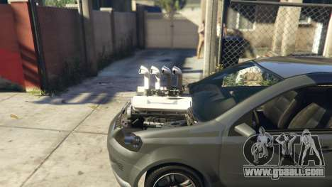 GTA 5 Asea V8 Mod right side view