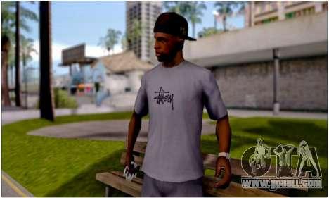T-Shirt Stussy for GTA San Andreas