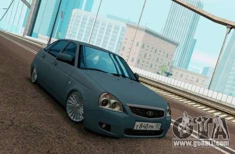 Lada Priora BPAN for GTA San Andreas