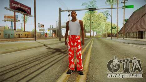 Christmas tights for GTA San Andreas third screenshot
