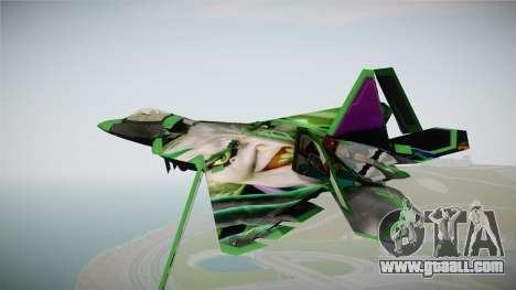 F-22 The Joker for GTA San Andreas