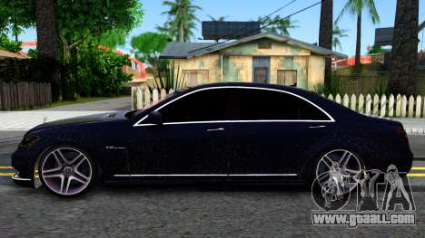 Mercedes-Benz S70 for GTA San Andreas left view