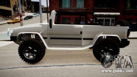 Patriot Jeep for GTA 4