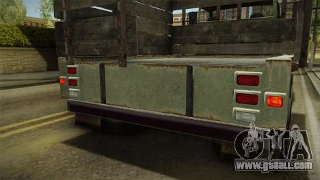 GTA 5 Vapid Scrap Truck v2 IVF for GTA San Andreas
