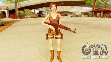 Rise of the Tomb Raider - Lara Underworld for GTA San Andreas