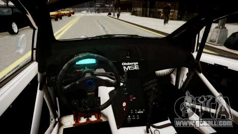 Ford Fiesta OMSE Hillclimb Special for GTA 4 inner view