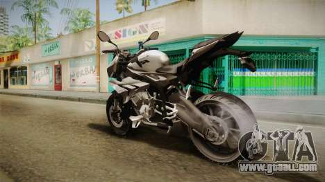 BMW S1000R 2015 for GTA San Andreas left view