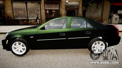 Cadillac CTS v2.1 for GTA 4