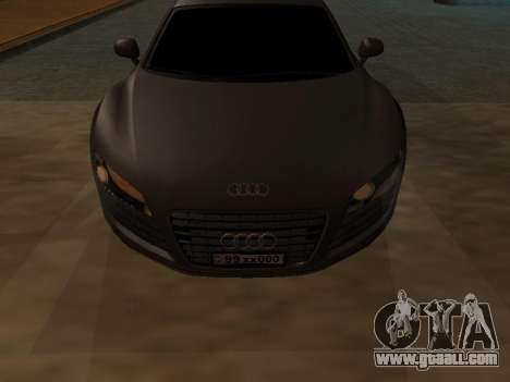 Audi R8 Armenian for GTA San Andreas left view