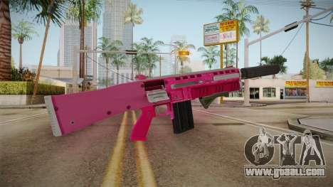 GTA 5 Assault Shotgun Pink for GTA San Andreas