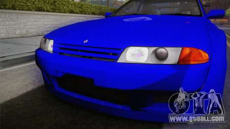 Nissan Skyline GTR32 Rocket Bunny for GTA San Andreas right view