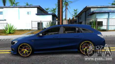 Mercedes-Benz CLA 45 AMG Shooting Brakes Boss for GTA San Andreas left view