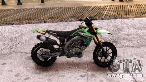 Kawasaki KX450F for GTA 4