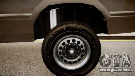 Chevrolet G20 Van for GTA 4 back view