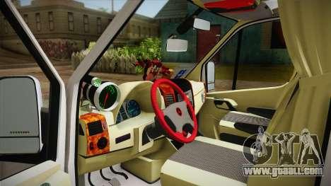 Mercedes-Benz Sprinter v2 for GTA San Andreas right view