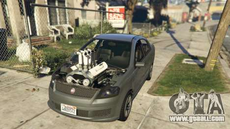 Asea V8 Mod for GTA 5