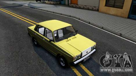 VAZ 2107 USSR for GTA San Andreas right view