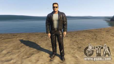 GTA 5 Arnold Terminator 2 Judgment Day