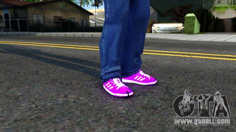 Adidas Forum MID Purple for GTA San Andreas second screenshot