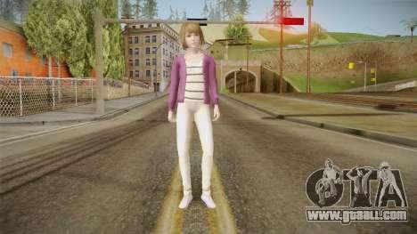 Life Is Strange - Max Caulfield Vortex Club v2 for GTA San Andreas second screenshot