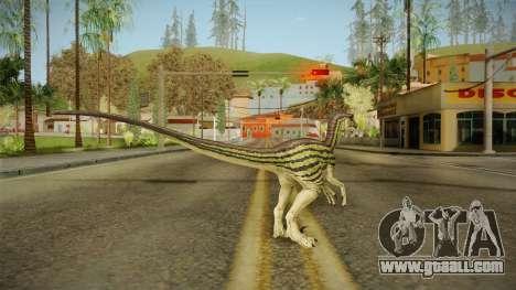 Primal Carnage Velociraptor Ivy Striped for GTA San Andreas third screenshot