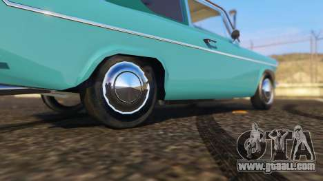 GTA 5 Ford Anglia 1959 from Harry Potter rear right side view