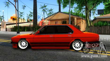BMW E28 M5 for GTA San Andreas left view