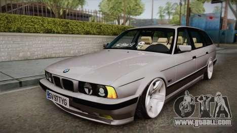 BMW 5 series E34 Touring for GTA San Andreas