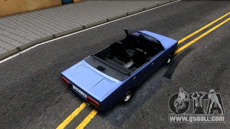 VAZ 2105 V2 convertible for GTA San Andreas back view