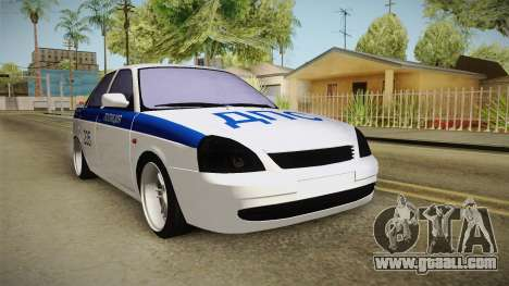 VAZ 2170 for GTA San Andreas right view