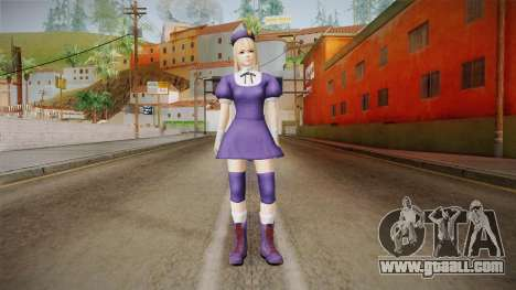 DoA 5 Marie Rose KOF DLC - Hinako Outfit for GTA San Andreas second screenshot