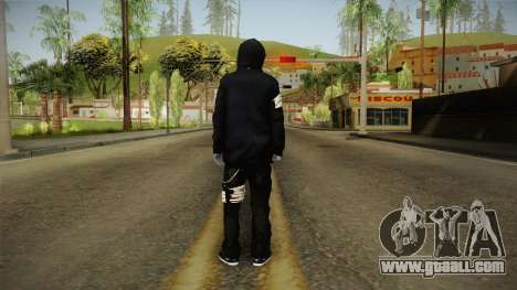 Eyeless Jack Skin for GTA San Andreas third screenshot