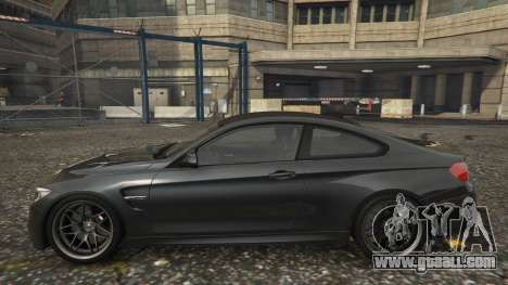 GTA 5 BMW M4 F82 2015 left side view