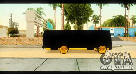 GROOVE 4234 Elite Gold for GTA San Andreas back view