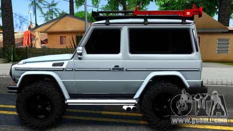 Mercedes-Benz G500 Off-Road Short for GTA San Andreas left view