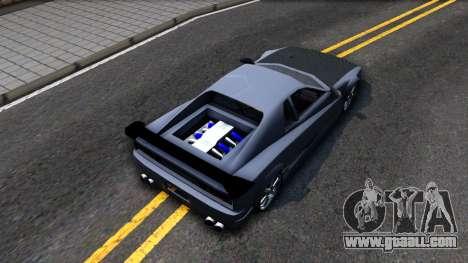Str1keZs Cheetah for GTA San Andreas back view