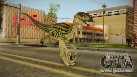 Primal Carnage Velociraptor Ivy Striped for GTA San Andreas