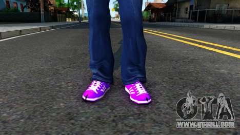 Adidas Forum MID Purple for GTA San Andreas third screenshot