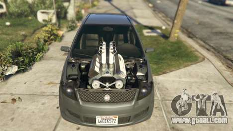 GTA 5 Asea V8 Mod rear right side view