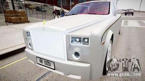 Rolls-Royce Phantom EWB Dragon Edition 2012 for GTA 4 right view