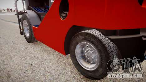 Toyota Forklift (v2.0) for GTA 4 back view