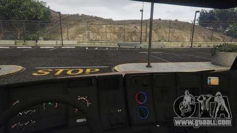 GTA 5 Scania 113H Guincho 4x6 Funcional right side view
