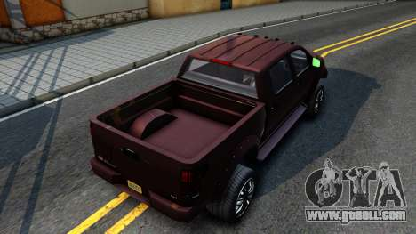 GTA V Vapid Contender for GTA San Andreas back view
